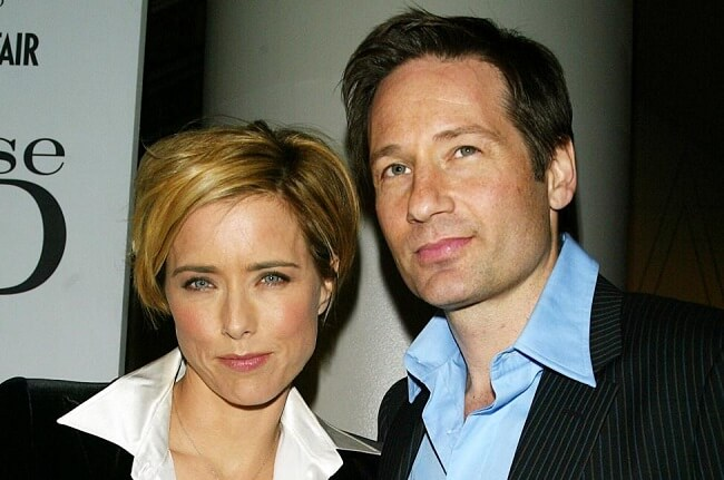 David Duchovny and hit wife