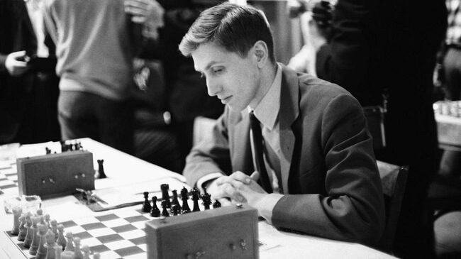 "Robert James ""Bobby"" Fischer IQ 180"