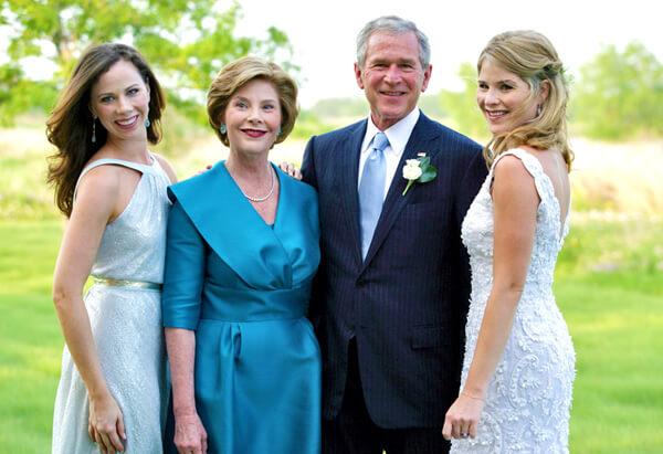 George Walker Bush - A great father