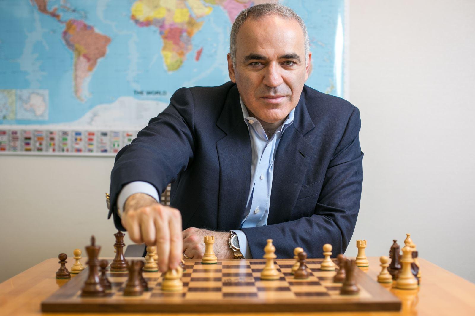 WHAT IS GARRY KASPAROVS IQ? -135