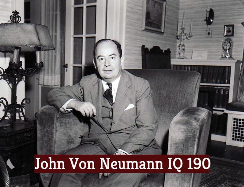 John Von Neumann Iq