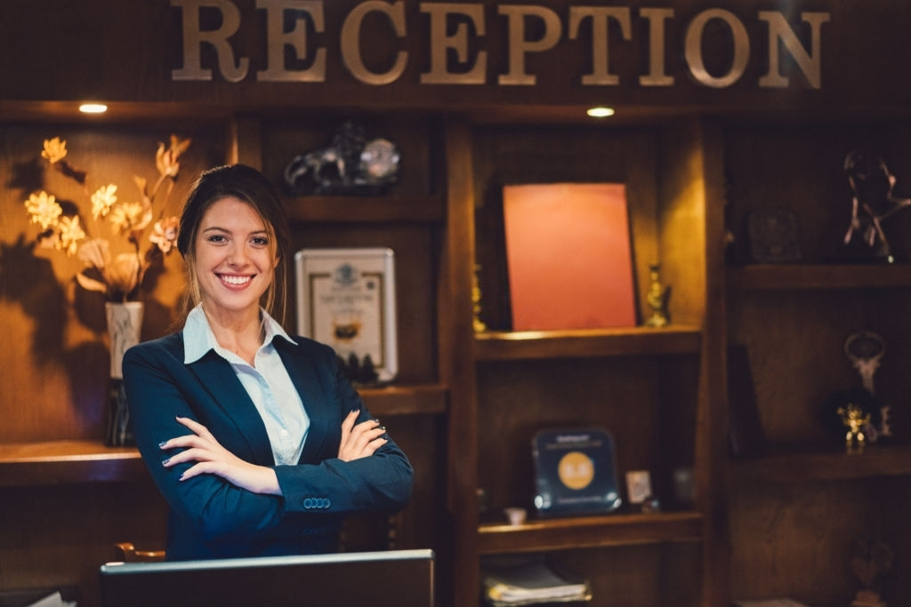 receptionist iq 91 job